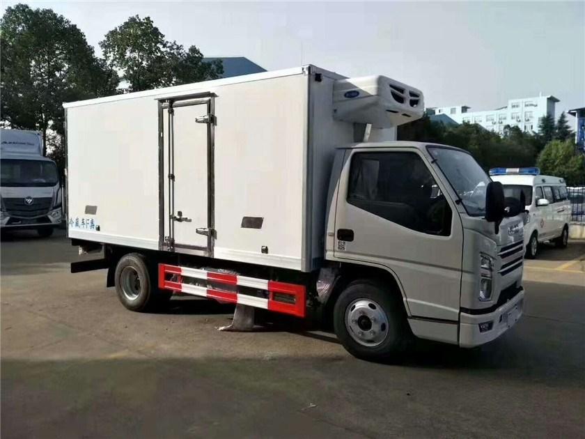 廠家供應4.2米江鈴藍牌冷凍車圖片