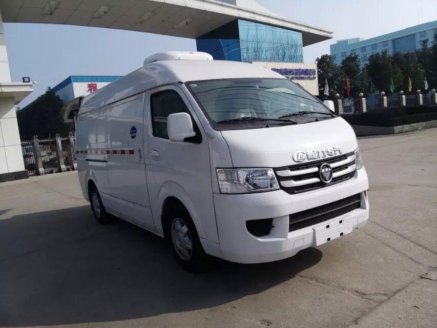 國六福田G7面包冷藏車首付2萬起圖片