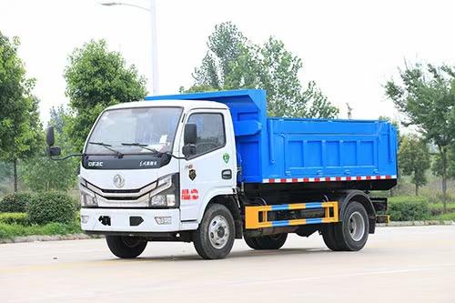 东风多利6方自装卸式垃圾车图片