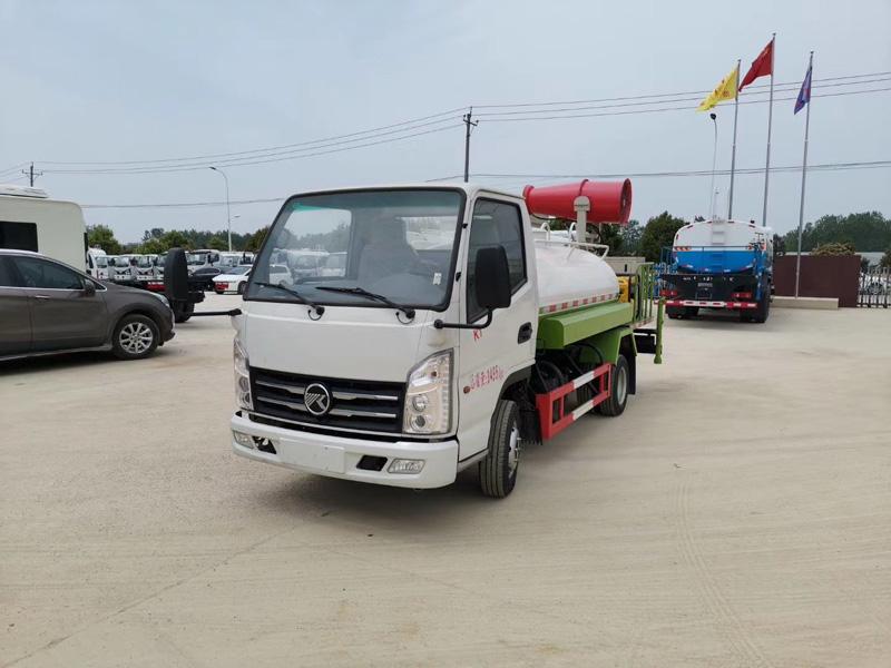 國六凱馬K1汽油藍牌3方多功能抑塵車灑水車圖片