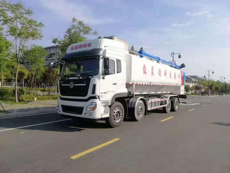 国五东风天龙20吨21吨散装饲料车常见故障分析,冠力汽车厂长笔记13