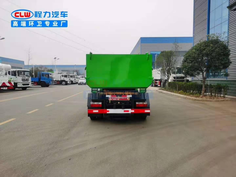 东风多利卡建筑垃圾车垃圾箱图片