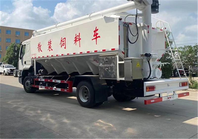 东风柳汽 10吨散装饲料车多少钱|厂家|价格图片