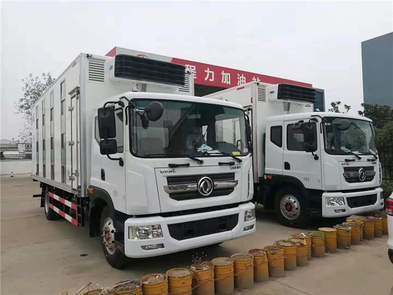 东风多利卡D7国六畜禽运输车厂家直冲底价