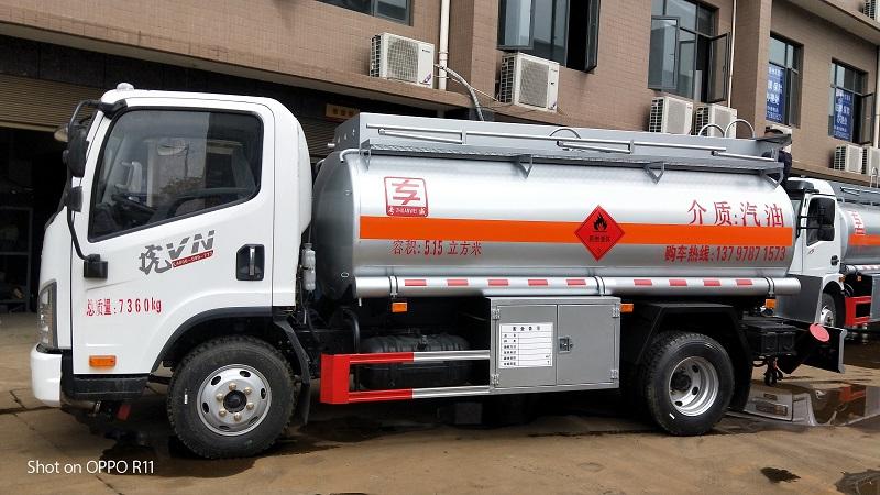 5噸油罐車廠家 解放5.15方加油車包上戶 送車上門 視頻視頻