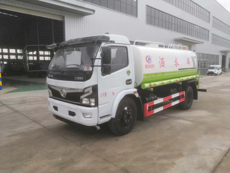 東風8噸灑水車多少錢一輛?圖片
