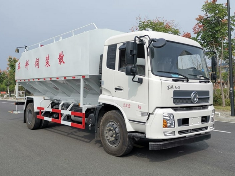 10吨散装饲料运输车配置与价格全面介绍