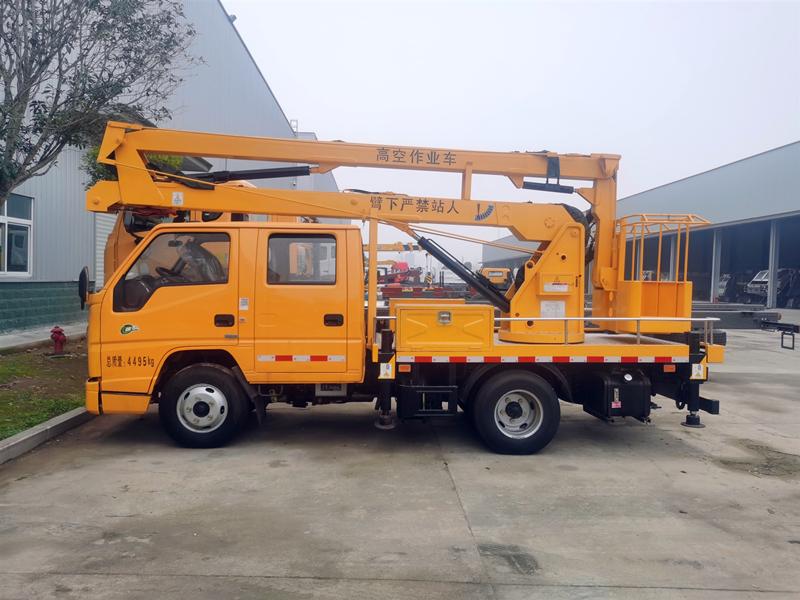 国六14米高空作业车,江铃顺达N600高空作业车