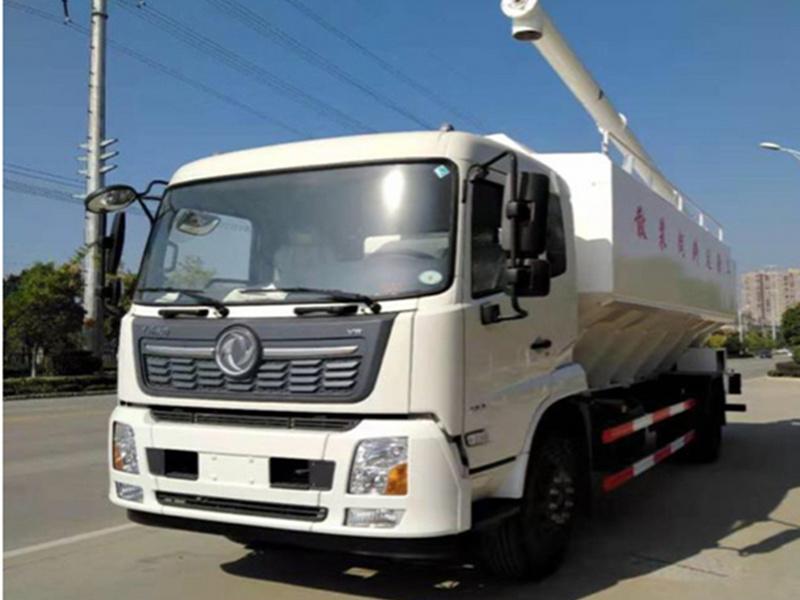 12吨散装饲料运输车厂家图片配置