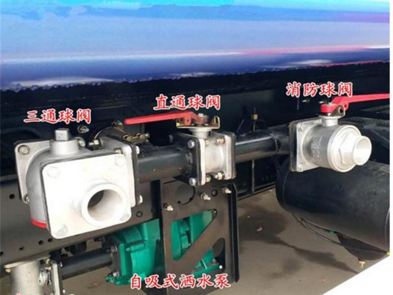 陕西渭南地区洒水车配件厂家直销