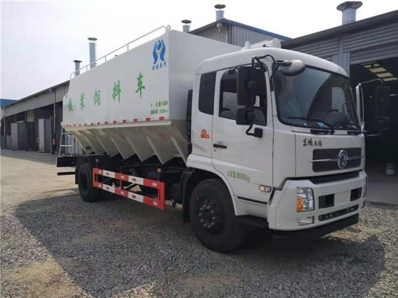 东风天锦10吨散装饲料车厂家直销