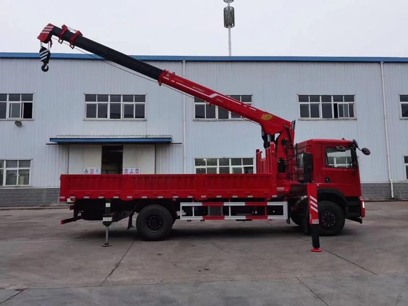 杜德8吨随车吊,东风华神8吨随车吊图片