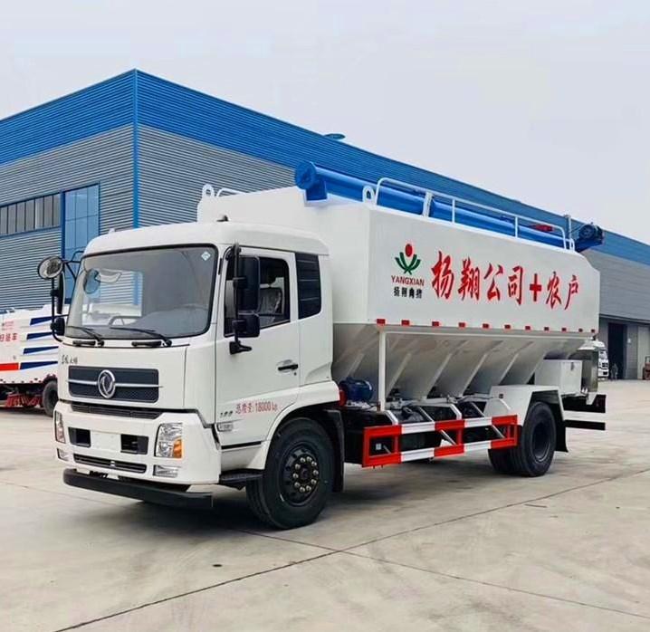 东风10吨散装饲料车价格|厂家|配置