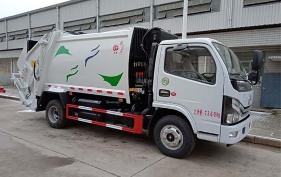 国六5吨压缩垃圾车