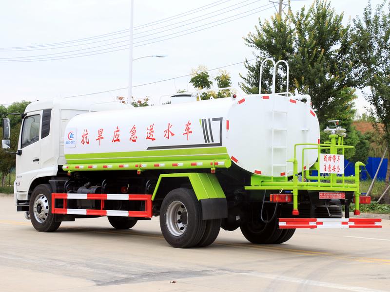 东风天锦国六康机210马力14方洒水车