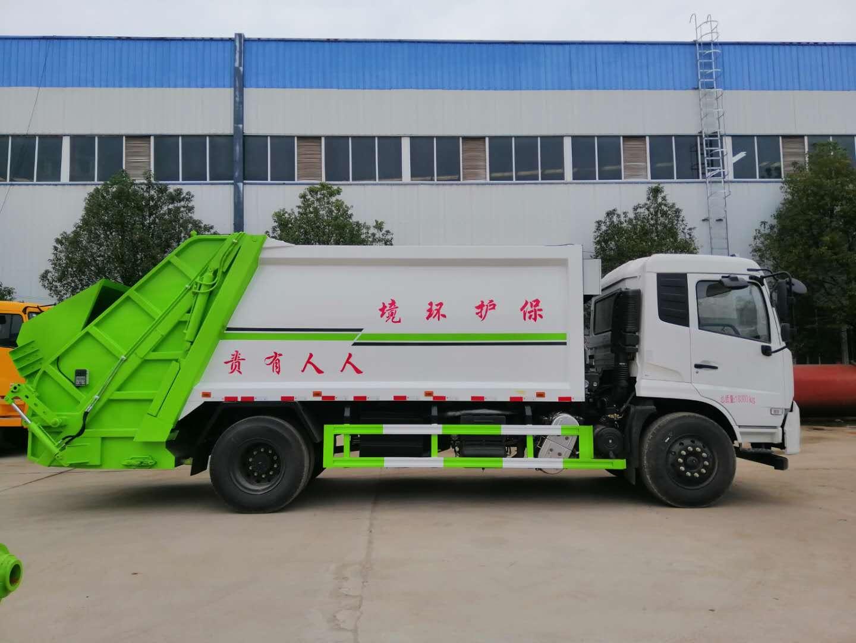 东风天锦14方垃圾车