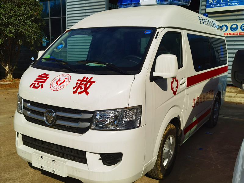 医院救护车收费情况,福田G9救护车性价比超高的一款救护车