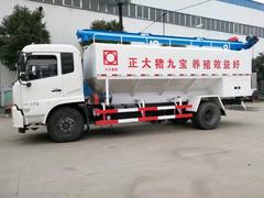 10吨方东风天锦散装饲料车价格_厂家图片