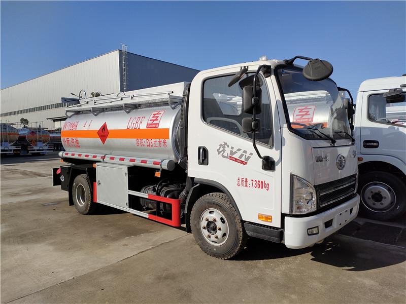 畅销款5吨油罐车厂家 解放5.15方加油车批发价包上户视频视频