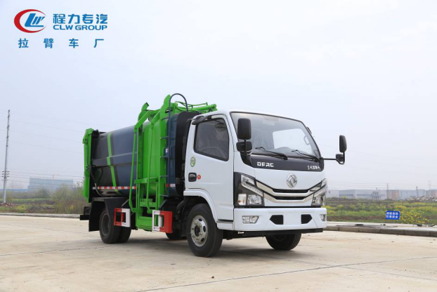 东风小多利卡自装卸式垃圾车