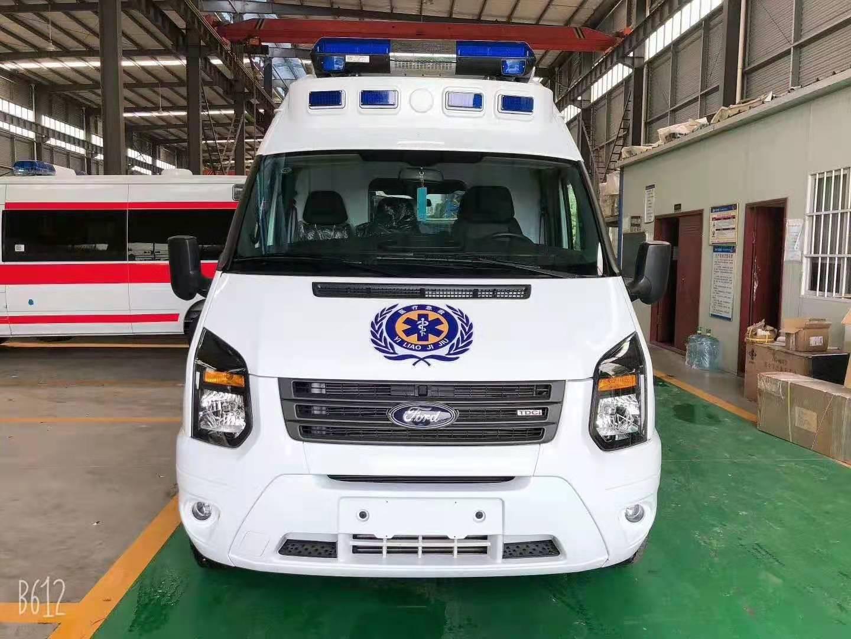 国六福特V348长轴高顶福星顶物流版救护车