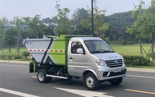 东风小康自装卸式垃圾车图片