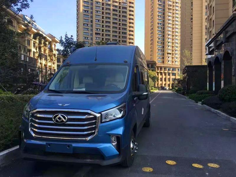 新款大通V90房车-国六超高顶加长轴后双胎B型房车厂家现车优惠销售!