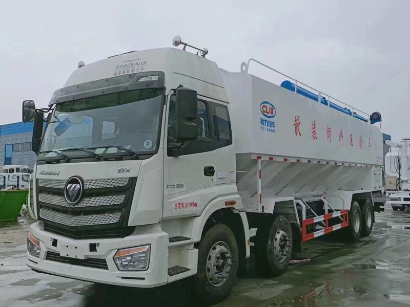 福田欧曼20吨(40方)散装饲料运输车