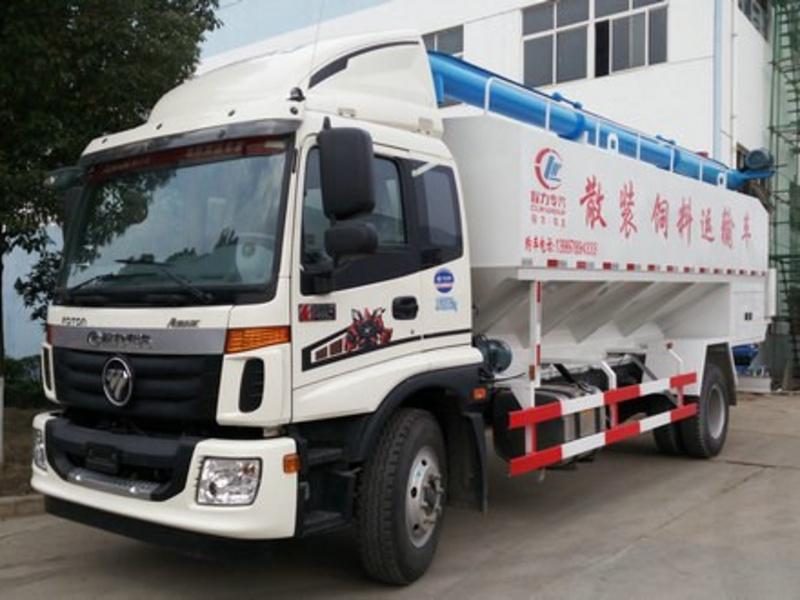 福田欧马可10吨散装饲料车