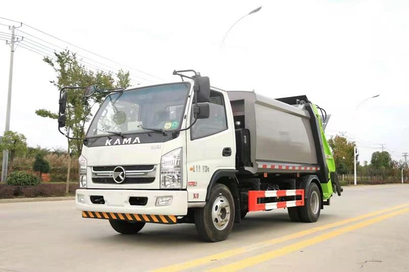 凯马6方压缩垃圾车多少钱一辆  凯马压缩什么价位