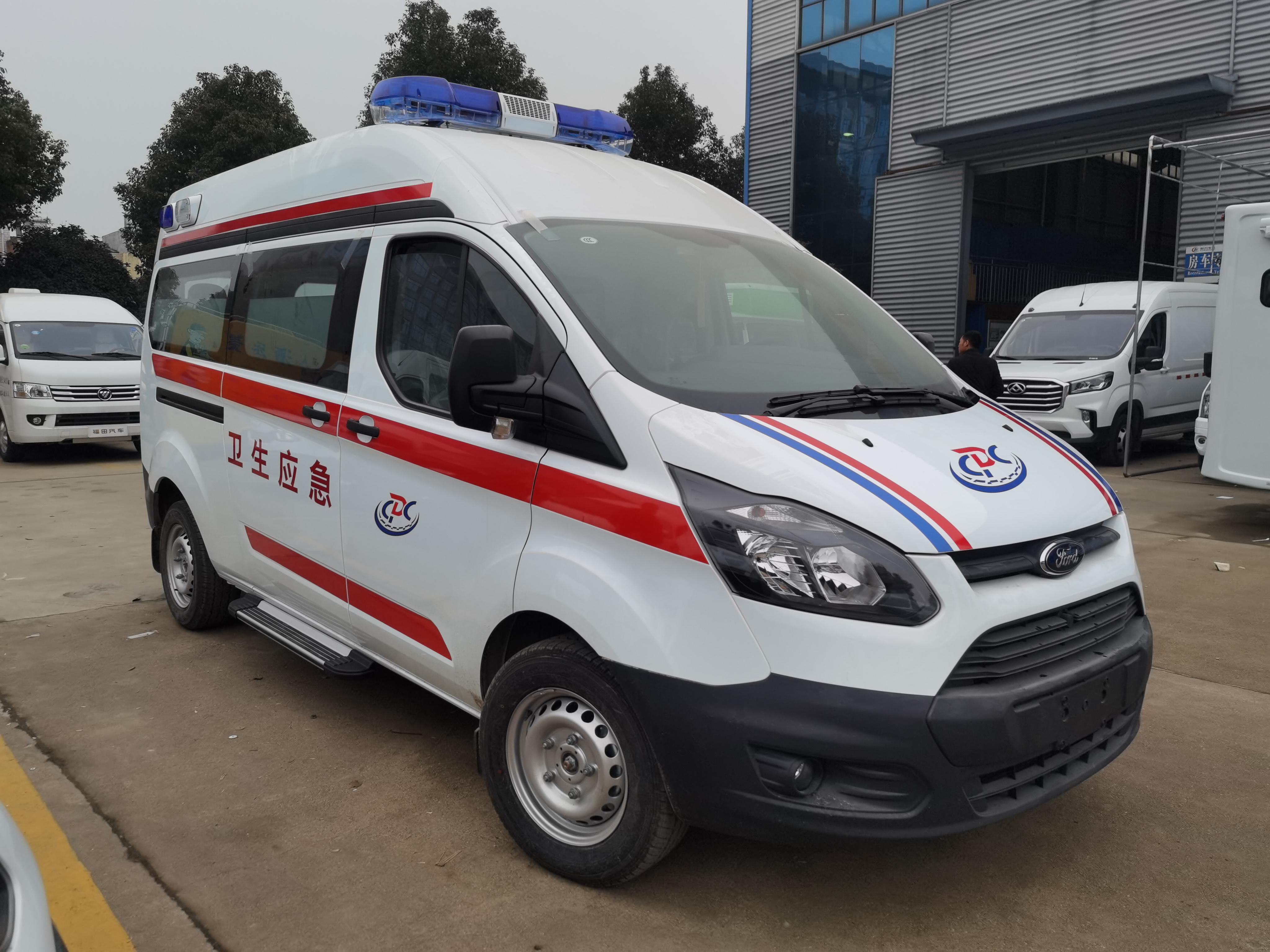 河北石家庄定购程力集团负压救护车视频