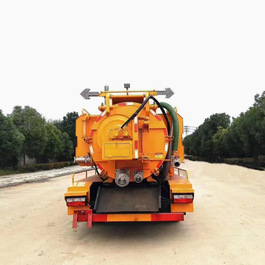 国六东风多利卡清洗吸污车图片