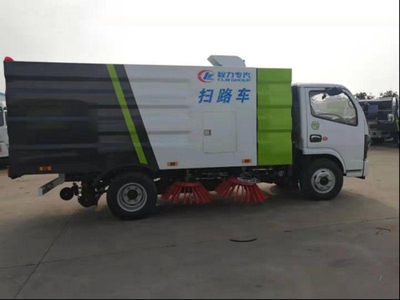 東風小多利卡掃路車價位圖片