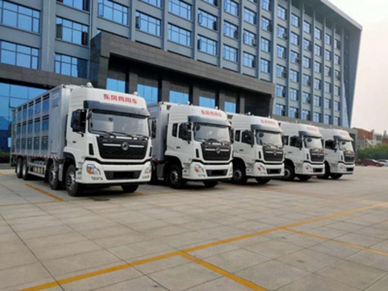 江苏订购东风天龙铝合金畜禽运输车