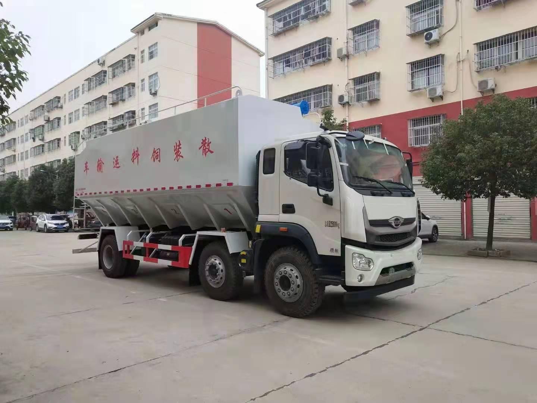 冠力专汽云南贵州短轴距15吨饲料车价格|配置|厂家,厂长笔记41
