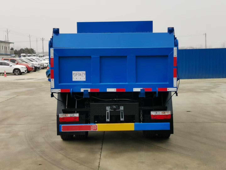东风国六8立方东风多利卡自卸式垃圾车
