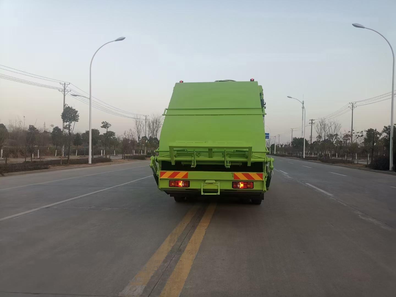 东风专底20方压缩垃圾车