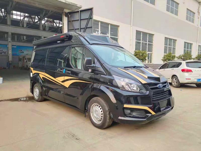最新2020款黑骑士B型房车-福特江铃全顺前后包围设计