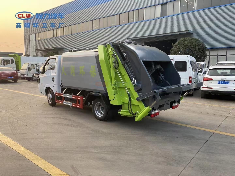国六东风途逸压缩垃圾车图片报价图片