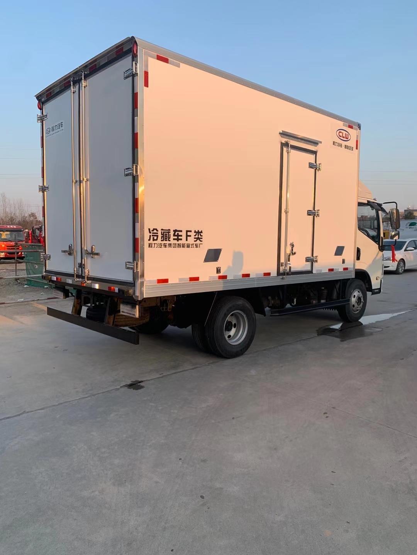 跃进C500单排亮体驾驶室冷藏车图片厂家报价图片