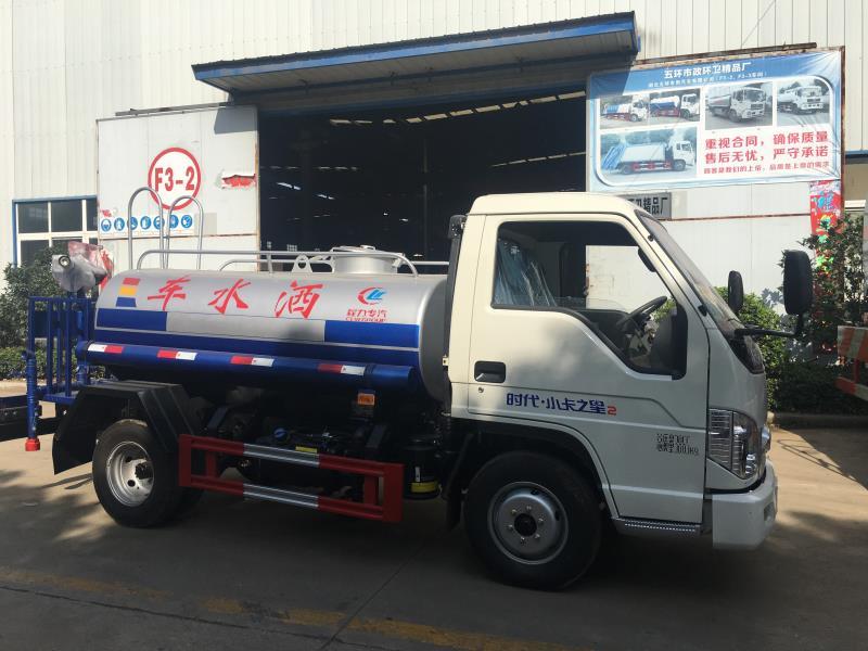 小型福田2-3噸灑水車