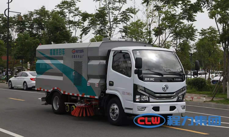 国六东风多利卡6方洗扫车图片