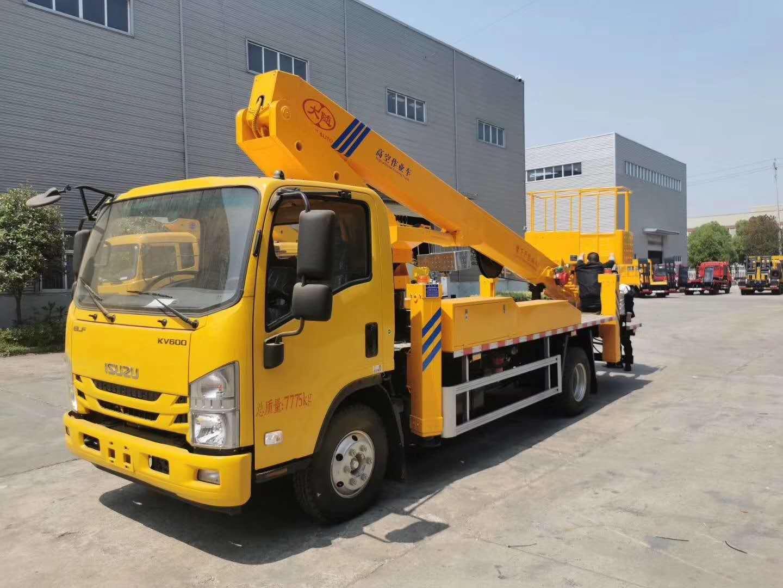 广西柳州18米高空作业车配置 图片 参数 报价