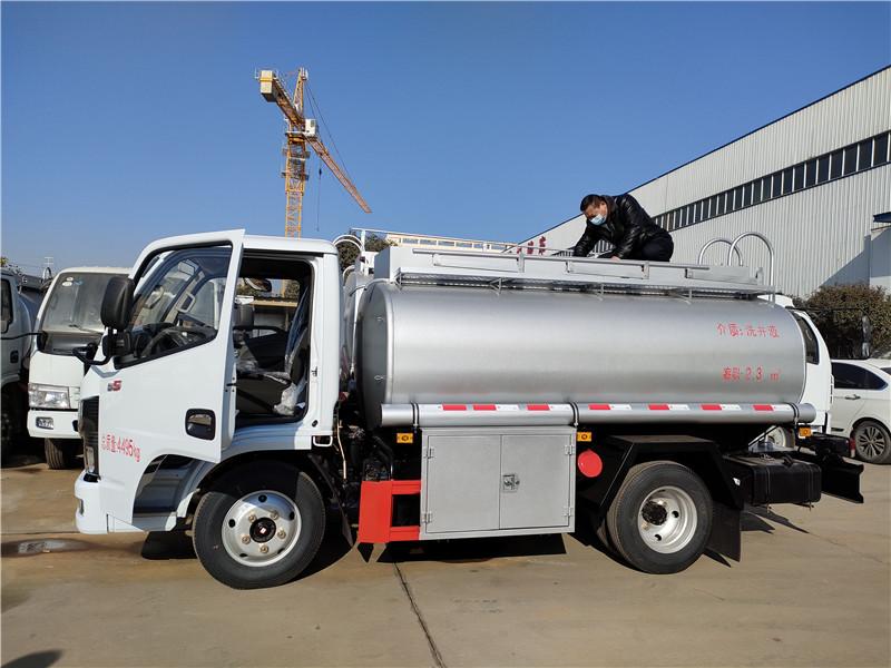 东风蓝牌4吨供液车厂家直销 可上个人户手续齐全多少钱视频