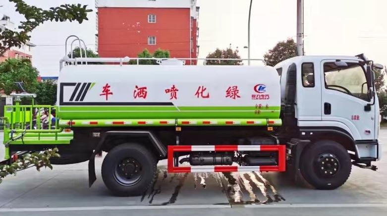 12方東風專底綠化噴灑車