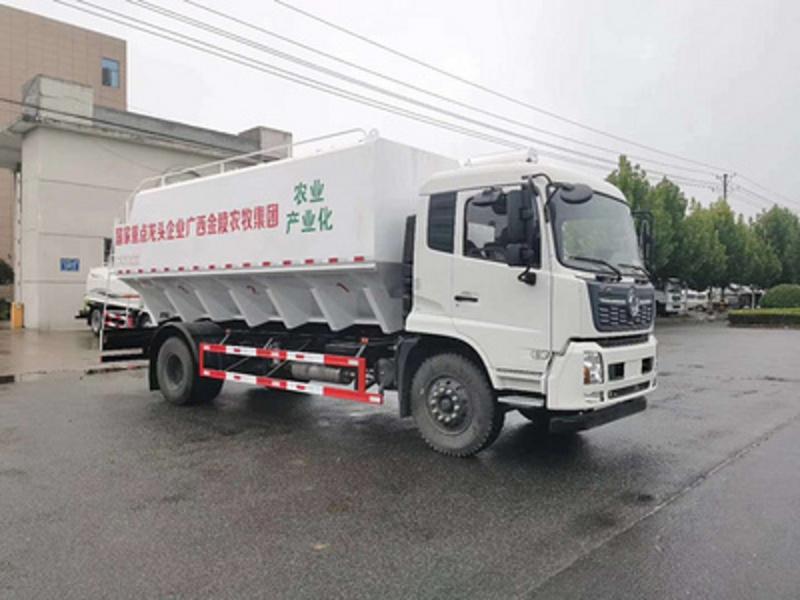 东风散装饲料车|10吨饲料车多少钱|厂家|报价