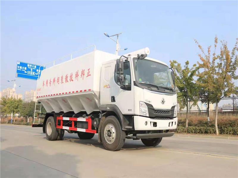 桐乡 10吨散装饲料车多少钱|10吨散装饲料车价格|厂家|报价