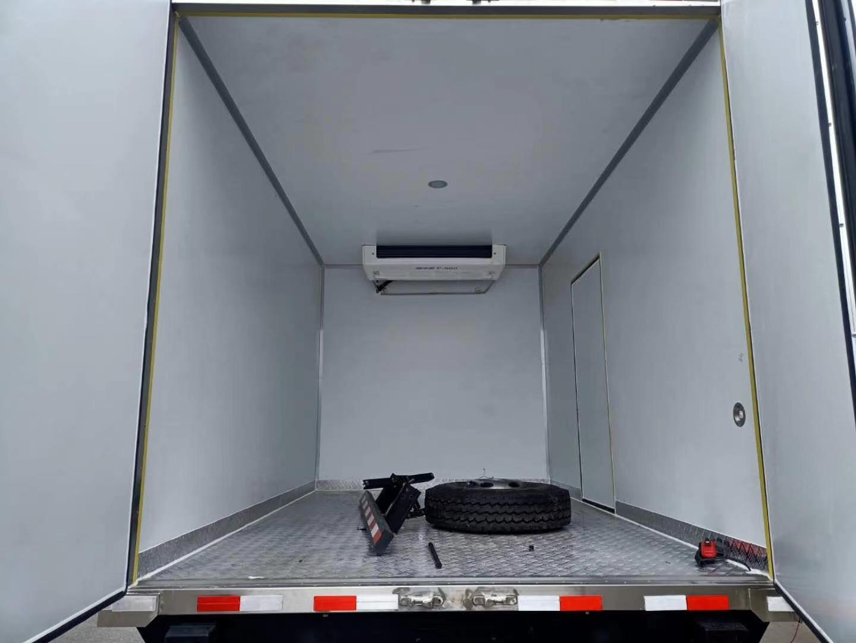4.2米福田時代領航5冷藏車圖片