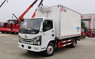 国六4.2米东风多利卡D6冷藏车图片
