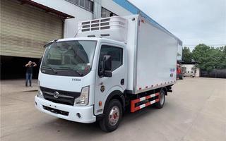 国六东风凯普特4米2冷藏车图片